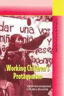 Working Children s Protagonism