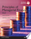 Principles of Managerial Finance, Brief (1-download) PDF eBook, Global Edition
