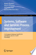 Systems Software And Services Process Improvement Book PDF