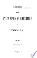 Annual Report of the Commissioner and the Board of Agriculture and Immigration Book