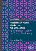 Presidential Power Meets the Art of the Deal Pdf/ePub eBook