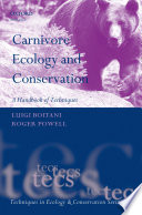 Carnivore Ecology and Conservation