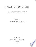 Pocket Library of English Literature  Tales of mystery Book