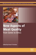 New Aspects of Meat Quality Pdf/ePub eBook