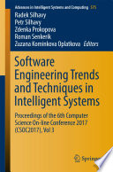 Software Engineering Trends and Techniques in Intelligent Systems Book