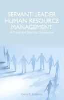 Servant Leader Human Resource Management Pdf/ePub eBook