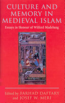 Culture and Memory in Medieval Islam