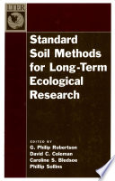 Standard Soil Methods for Long Term Ecological Research
