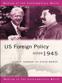 US Foreign Policy since 1945 ebook