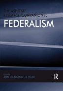 The Ashgate Research Companion to Federalism Pdf/ePub eBook