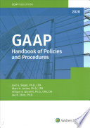 GAAP Handbook of Policies and Procedures (2020)