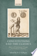 Constitutions And The Classics