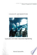 Research Perspectives in Hydraulics and Water Resources Engineering