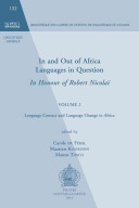 In and Out of Africa  Languages in Question  in Honour of Robert Nicolai Book PDF