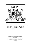 Taoist Ritual in Chinese Society and History