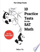 10 Practice Tests for the SAT Math