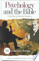 Psychology and the Bible: From Genesis to apocalyptic vision