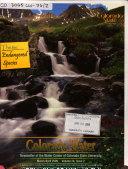 Colorado Water Book