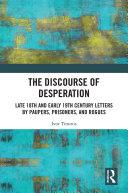 The Discourse of Desperation Pdf/ePub eBook
