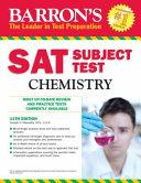 Barron s Sat Subject Test Chemistry Book