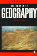 The Penguin Dictionary of Geography