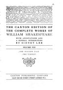 The Caxton Edition Of The Complete Works Of William Shakespeare