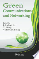 Green Communications And Networking Book