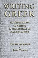 Writing Greek