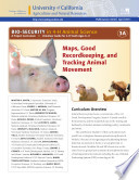 Bio Security In 4 H Animal Science 3a Maps Good Recordkeeping And Tracking Movement