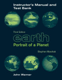 Earth Portrait of a Planet 3e   Instructors Manual Test Bank