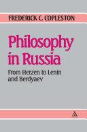 Philosophy in Russia