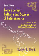 Contemporary Cultures and Societies of Latin America