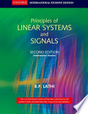 Principles Of Linear Systems And Signals