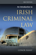 An Introduction to Irish Criminal Law Book