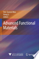 Advanced Functional Materials Book PDF