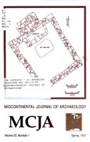 Midcontinental Journal of Archaeology  MCJA