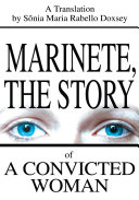 Pdf Marinete, the Story of a Convicted Woman