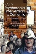 Early Psychosocial Interventions in Dementia Pdf/ePub eBook