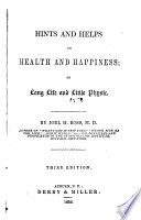 Hints and Helps to Health and Happiness Book PDF