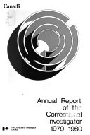 Annual Report of the Correctional Investigator