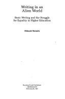 Writing in an Alien World