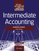 Intermediate Accounting, , Working Papers
