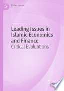 Leading Issues in Islamic Economics and Finance Book