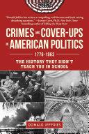 Pdf Crimes and Cover-ups in American Politics