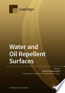 Water and Oil Repellent Surfaces Book