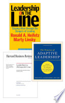 Adaptive Leadership  The Heifetz Collection  3 Items