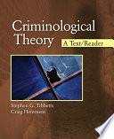 Criminological Theory