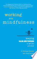 Working with Mindfulness Book
