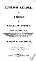 The English Reader; Or, Pieces in Prose and Poetry