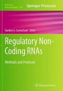 Regulatory Non Coding RNAs